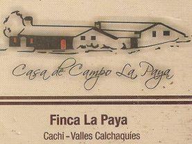 LA PAYA, Cachi