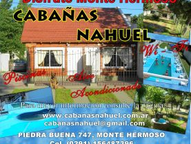 CABAÑAS NAHUEL, Monte Hermoso