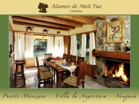 Álamos de Meli Tue Cabañas, Villa La Angostura