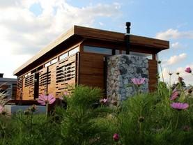 Eco Casa de Diseño en las Sierras, San Esteban